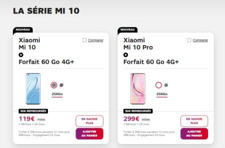 Xiaomi Mi 10 SFR Smartphone