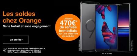 Soldes Smartphones Orange