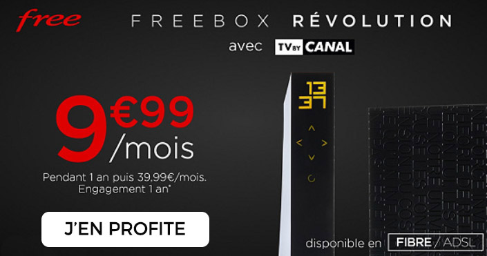 vente privée freebox tv by canal