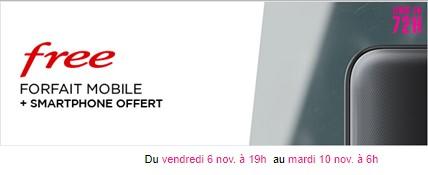 vente privée free mobile