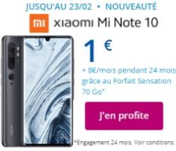 Xiaomi Mi Note 10 1€ Bouygues Telecom