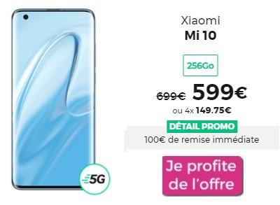 Xiaomi Mi 10 promo RED