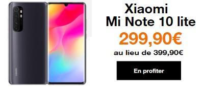 Xiaomi Mi 10 Lite promo Orange