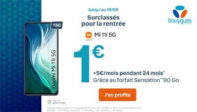 Bouygues Telecom Xiaomi Mi 11i